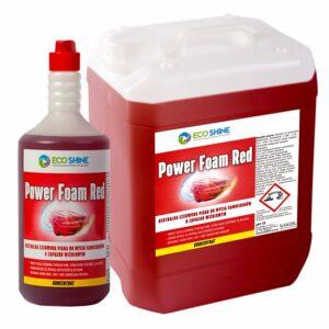 POWER FOAM RED